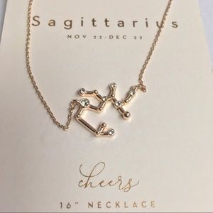 Sagittarius constellation necklace, Lauren Conrad